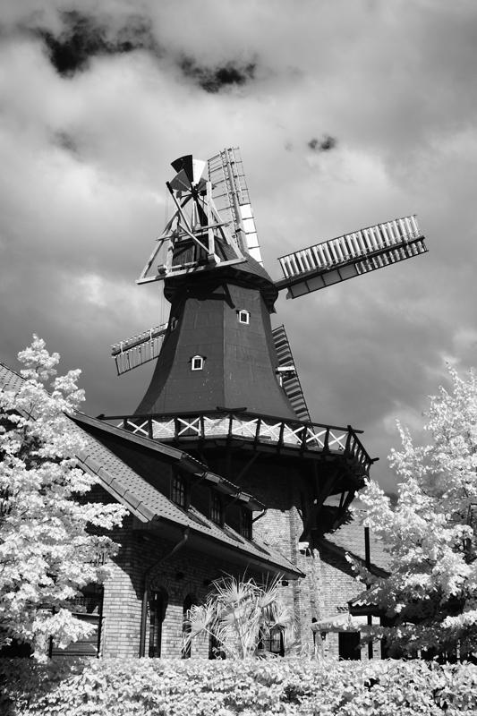 Mühle von hinten