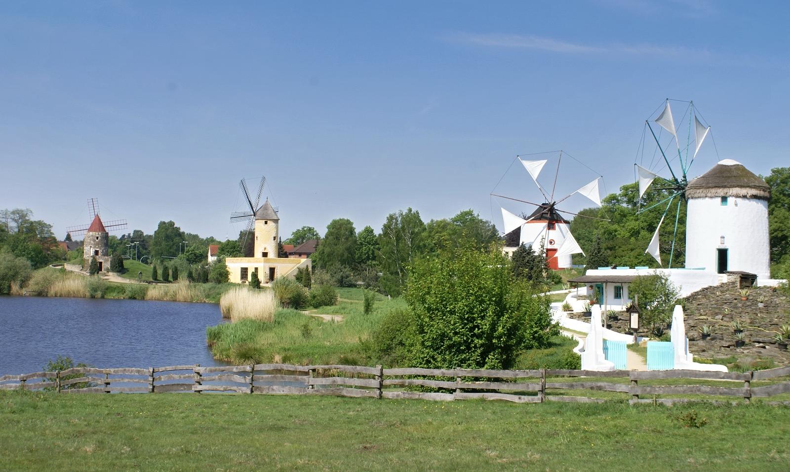 Mühlen im Park