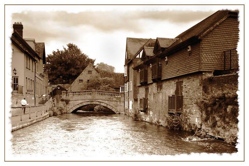 Mühlengraben in Winchester