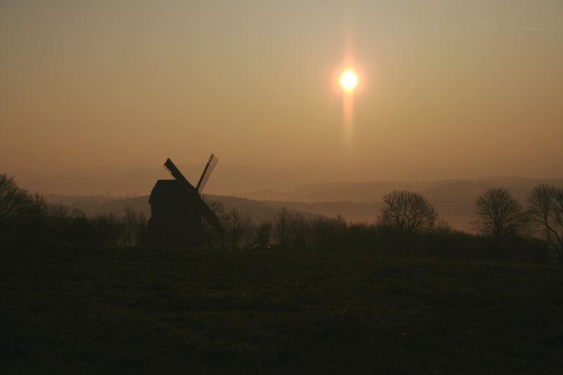 Mühlenhof im Morgenlicht