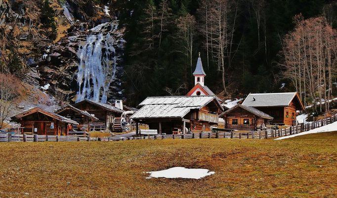 Mühlenmuseum am Wasserfall