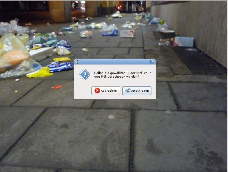 Müll - nichts all Müll!