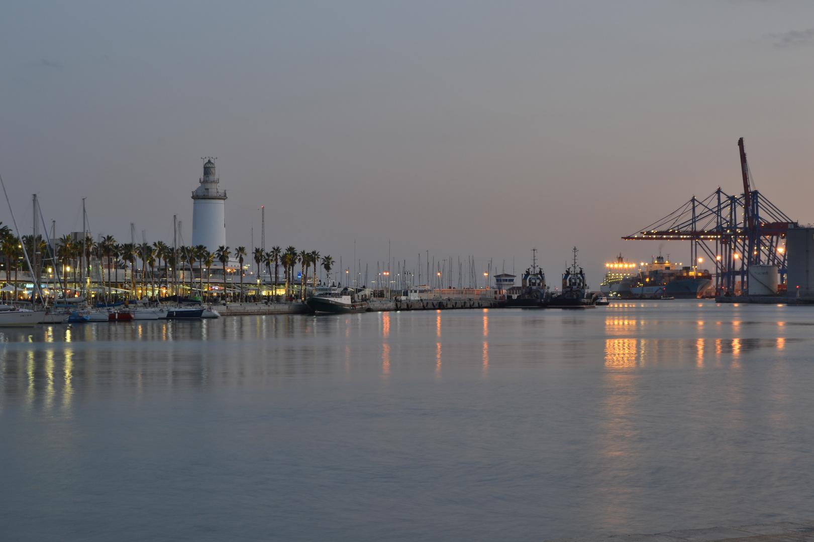muelle 1 malaga, puerto