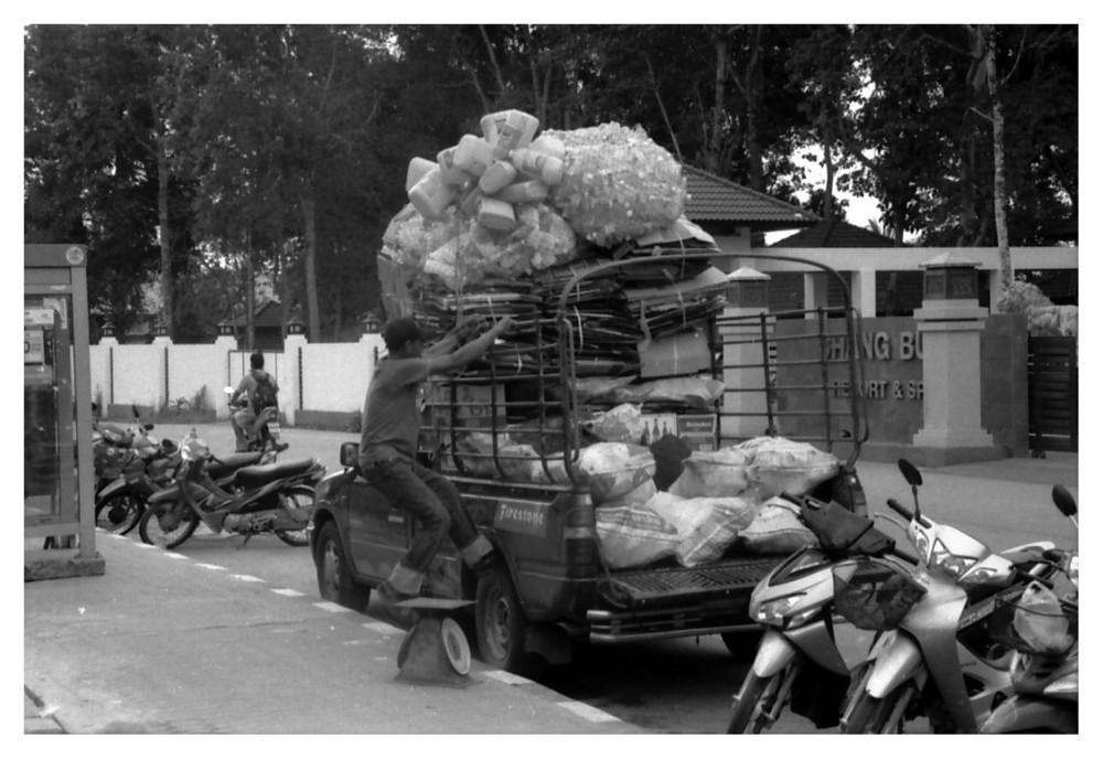 Mülltransport