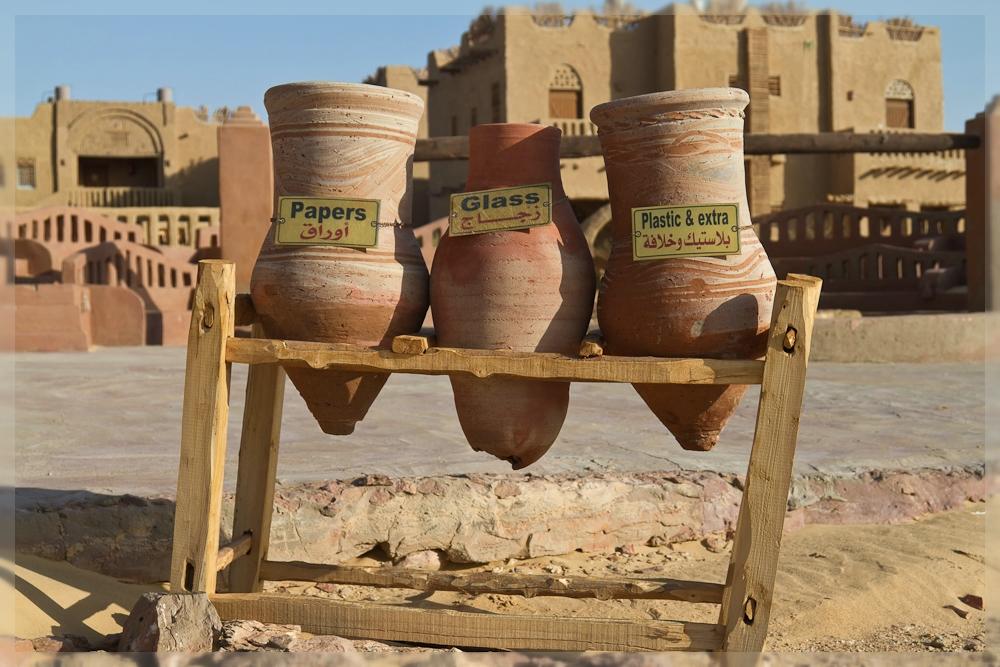 Mülltrennung in Ägypten