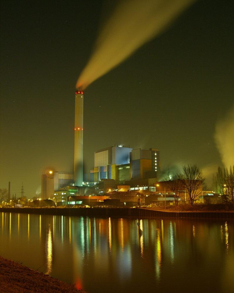 Müllverbrennungsanlage in Oberhausen