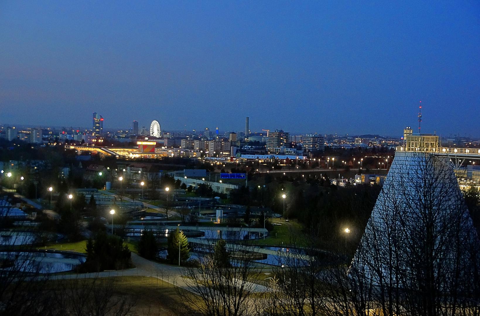 München erwacht am Heilig Abend 2012