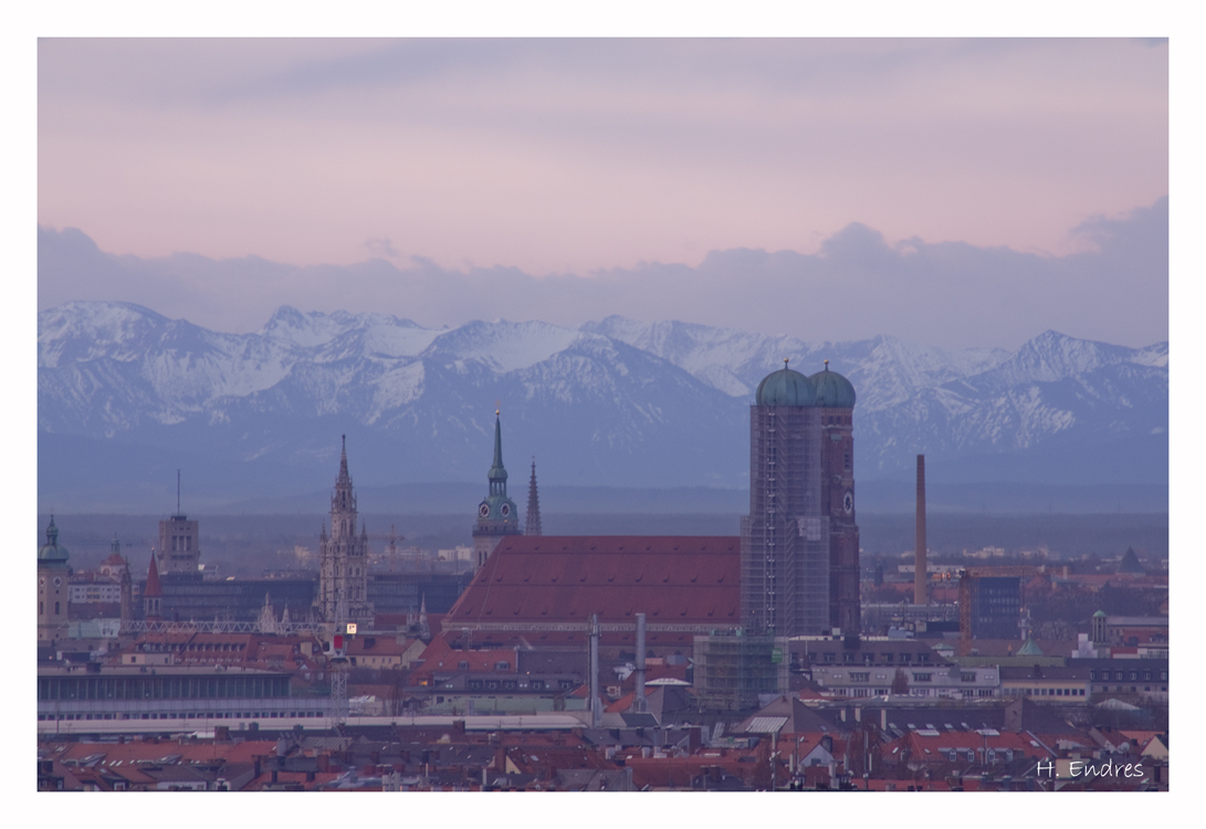 München früh morgens
