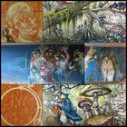 München - Graffiti unterm Friedensengel (kleine Auswahl)