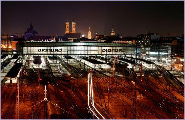 München Hbf, gestern Abend.....