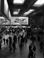 München Hbf - nach dem Sturm der Reisendeansturm