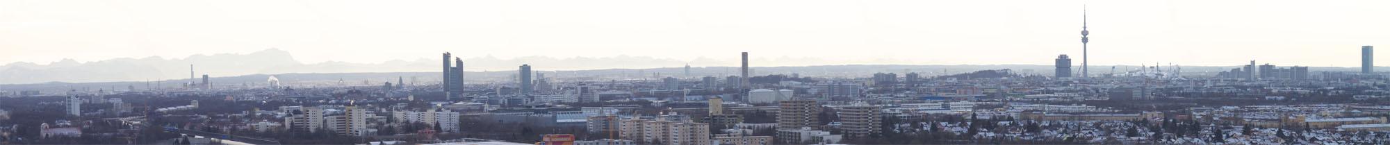 München im Panoramablick 2010