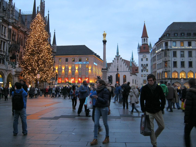 München Marienplatz 2