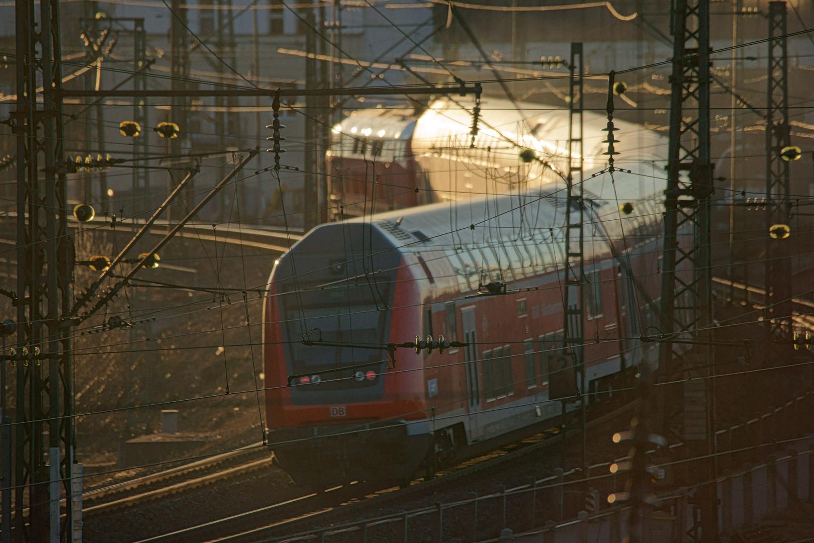 München-Mühldorf Doppelstockzug
