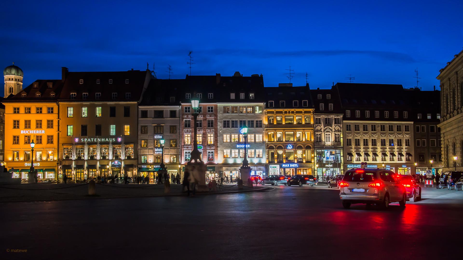 München - Nachtszene
