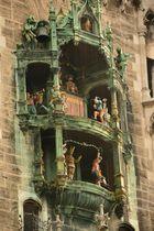 München Neues Rathaus Glockenspiel