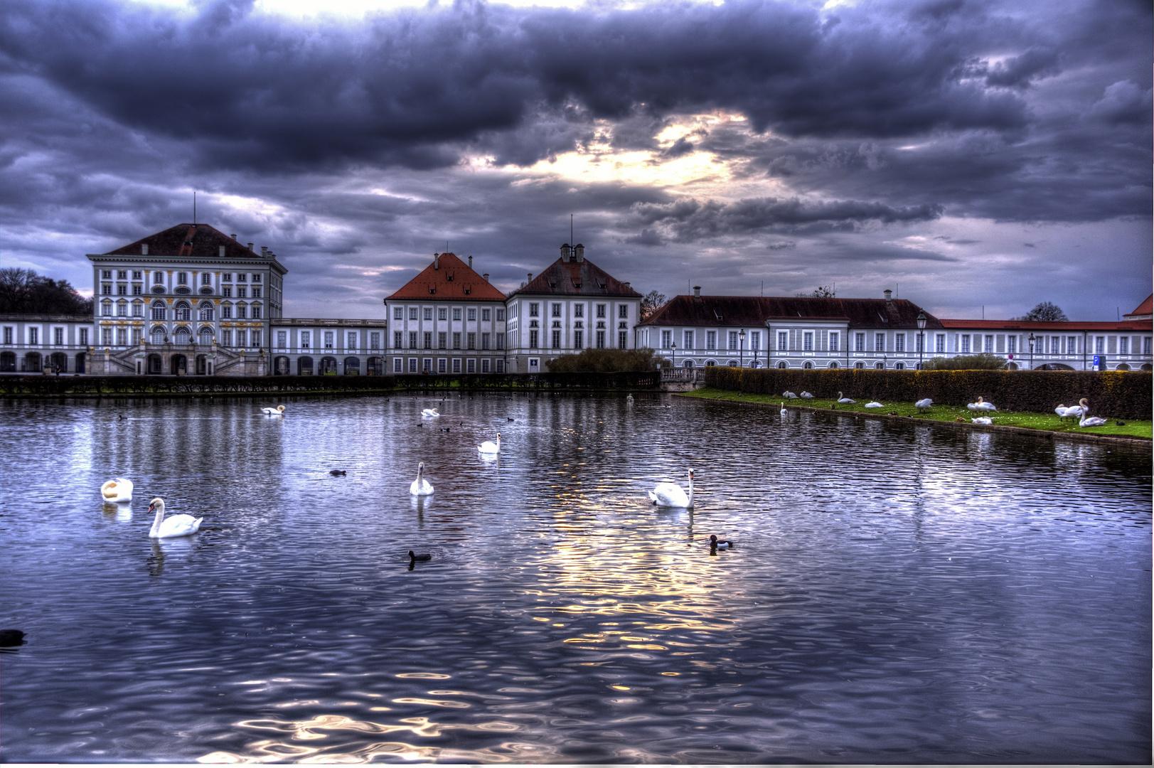 München, Nymphenburger Park, Schloss Nymphenburg