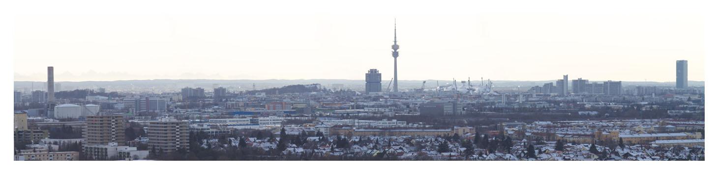 München Panorama 2010 - Teilbild 1