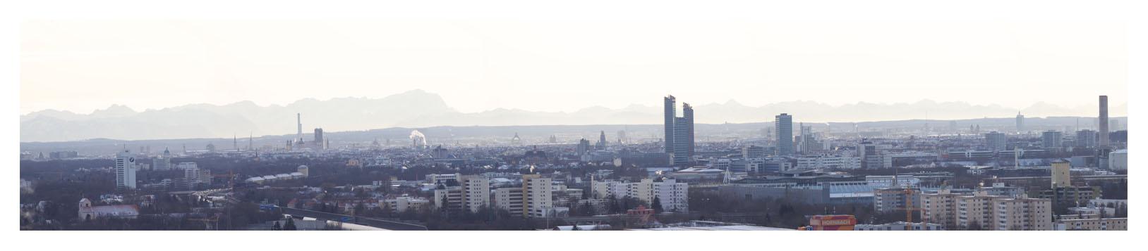 München Panorama 2010 - Teilbild 2
