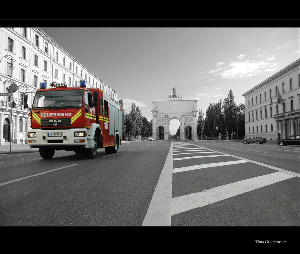 München sieht rot