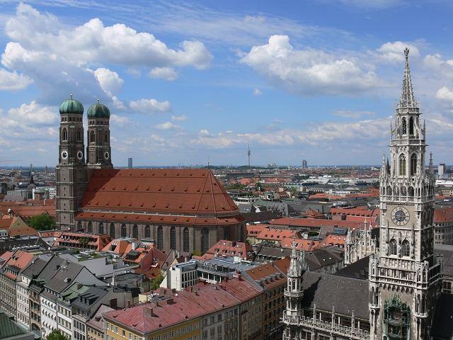 München vom alten Peter 1