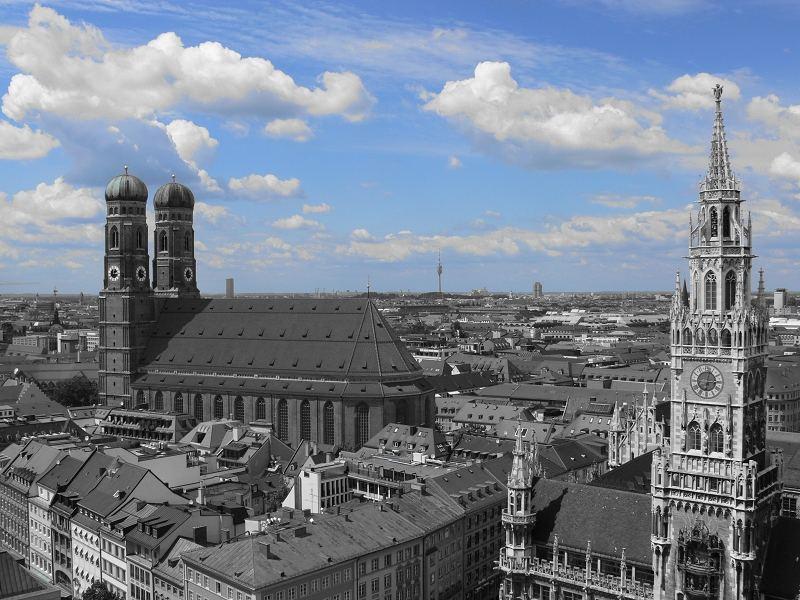 München vom alten Peter
