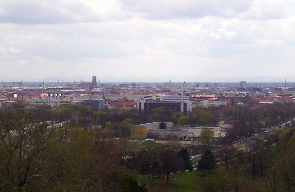München vom Schuttberg aus