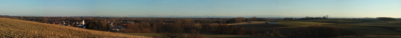 München von der Endmoräne