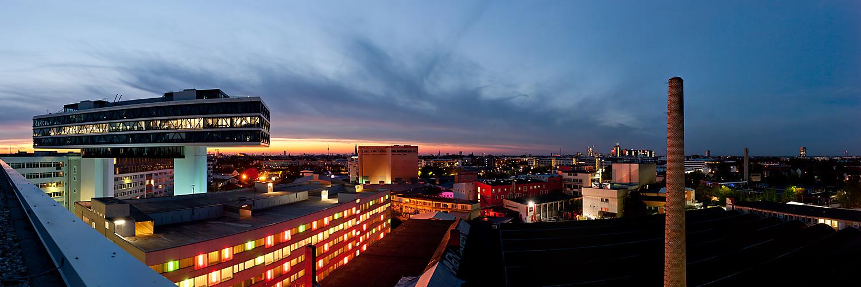 München zur blauen Stunde