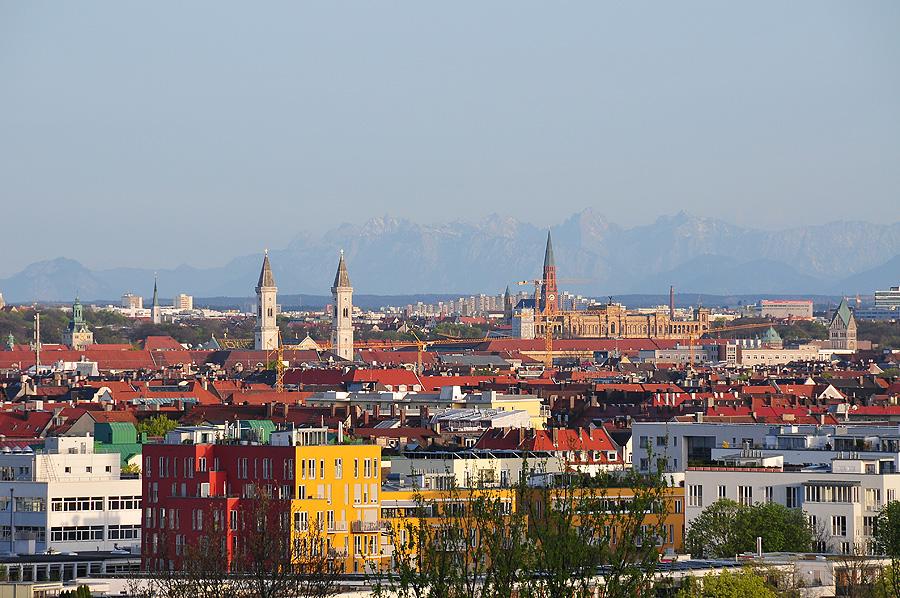 Münchens Skyline
