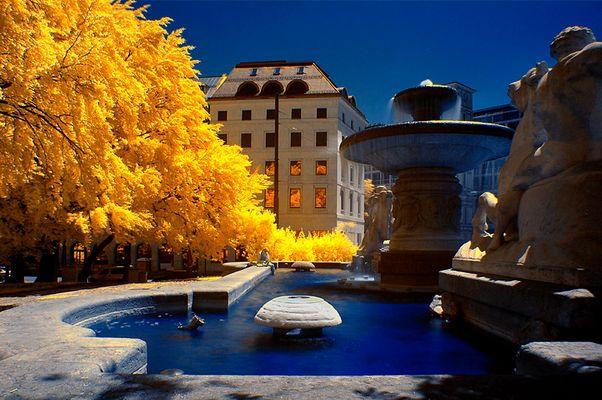 Münchner Fehlfarben (13) - Wittelsbacher Brunnen