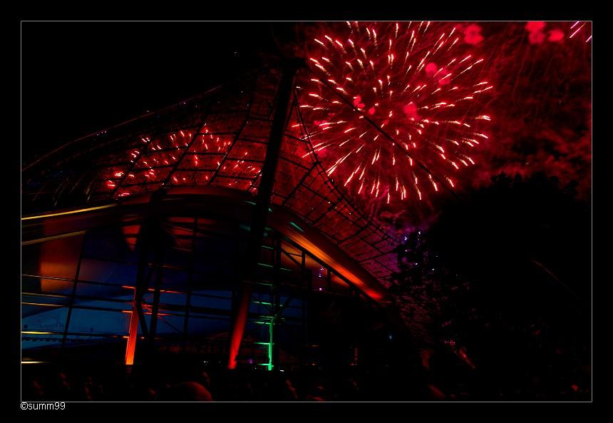Münchner Sommernachtstraum Feuerwerk