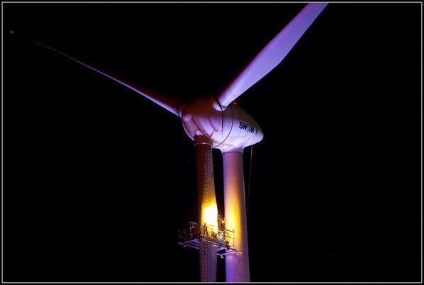 Münchner Windkraftwerk