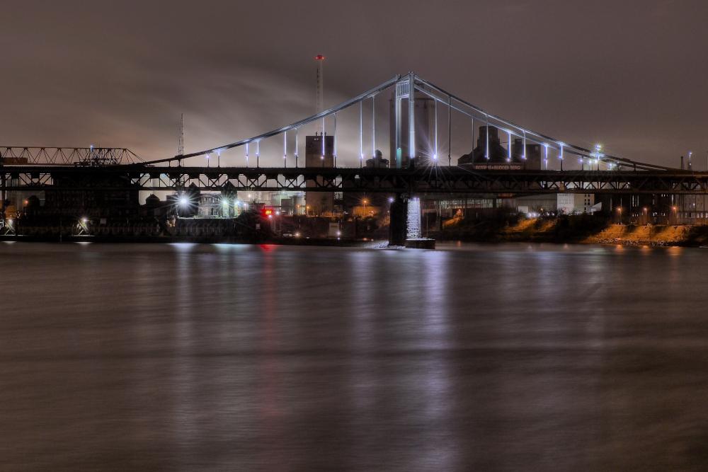 Mündelheimer Brücke in Krefeld