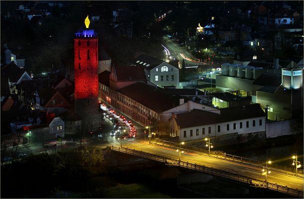 Mündener Weihnachtskerze 2013