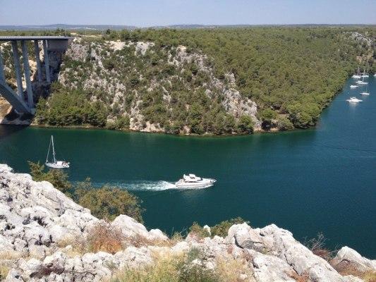 Mündung Krka - Sibenik