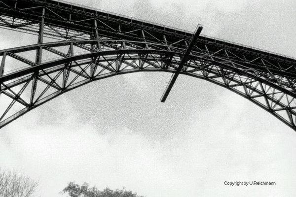 Müngstener Brücke im Herbst 1998