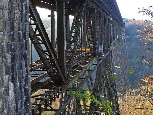 Müngstener Brücke - Stahlverstrebungen
