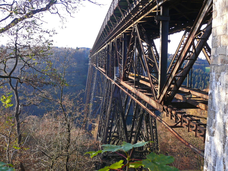 Müngstener Brücke - Stahlverstrebungen (2)