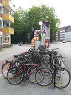 Münster + Fahrräder + Tobias Rehberger
