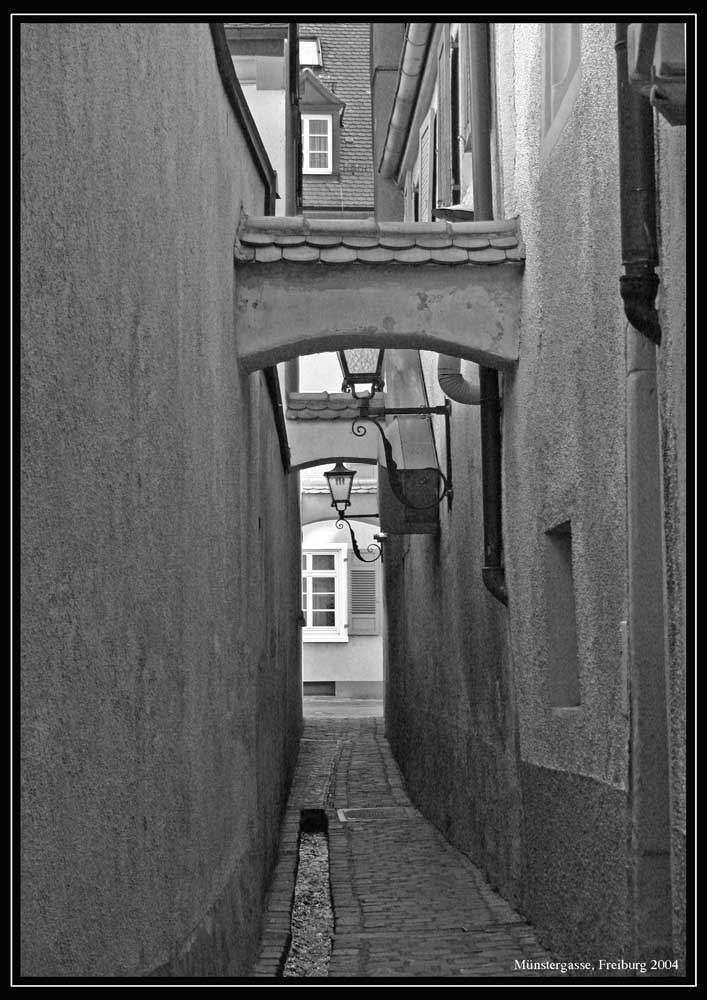 Muenster-Gasse Freiburg