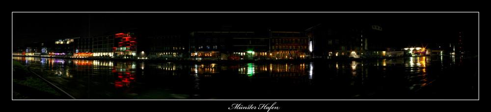 Münster Hafen bei Nacht!!