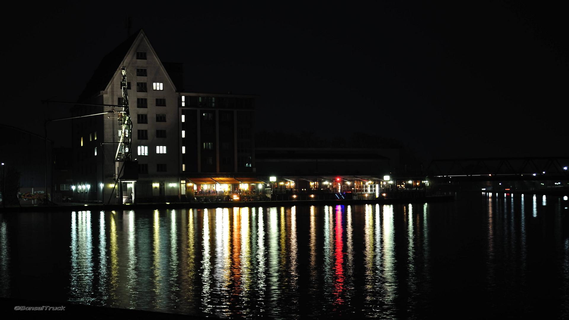 Münster - Hafen by night