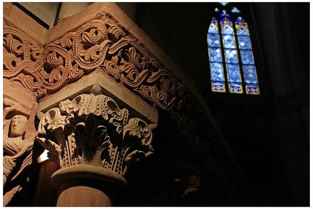 Münster Innenraum-Detail 3