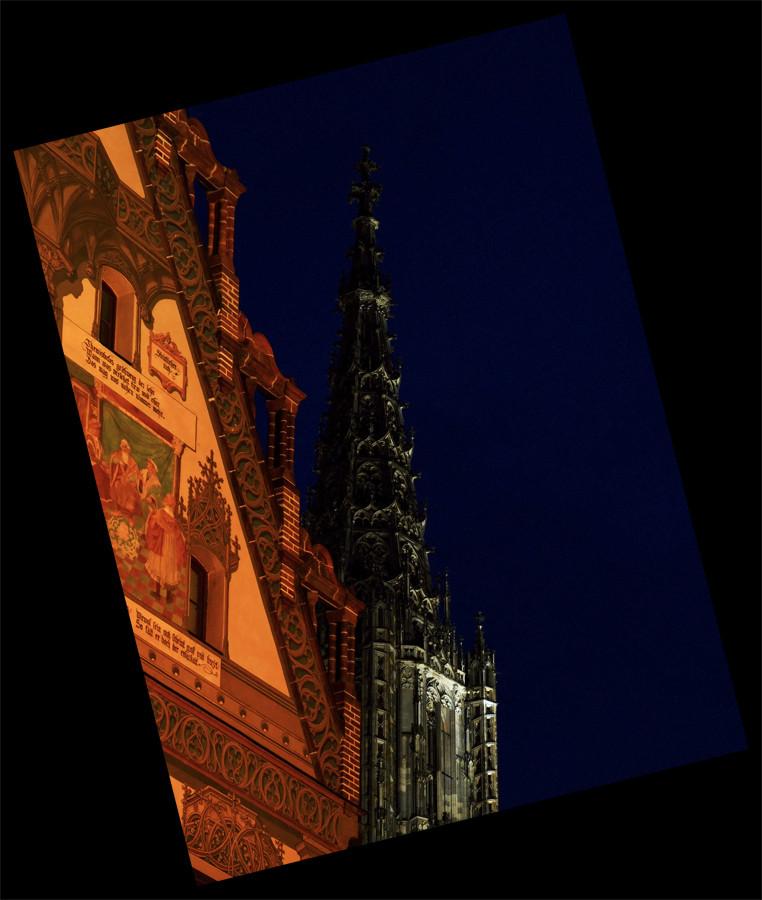 Münster und Rathaus Ulm