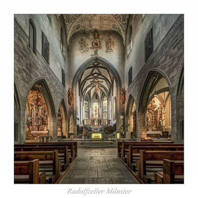 """Münster Unserer Lieben Frau in Radolfzell """" Blick zum Chor..."""""""