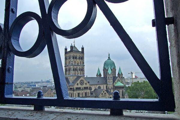 Münsterkirche  einmal von oben
