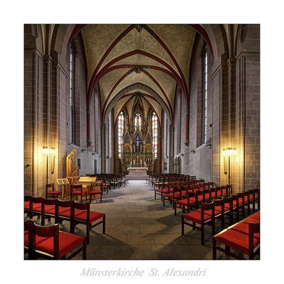 "Münsterkirche St. Alexandri (Einbeck) "" Blick in den Chor ..."""