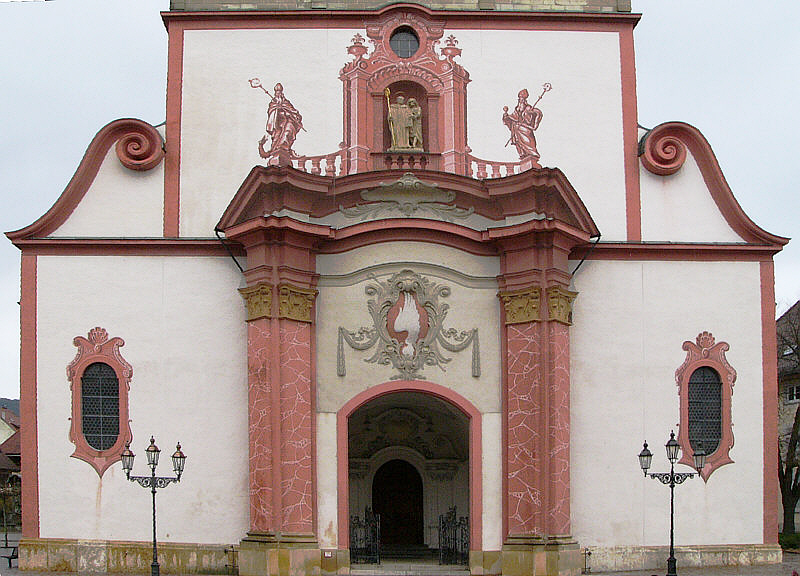 Münsterportal in Bad Säckingen