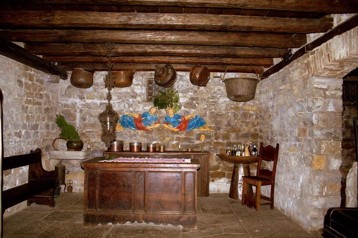 MUGGIA ,interno del castello